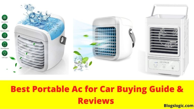 Best Portable Ac for Car Reviews - Air Conditioners for Car