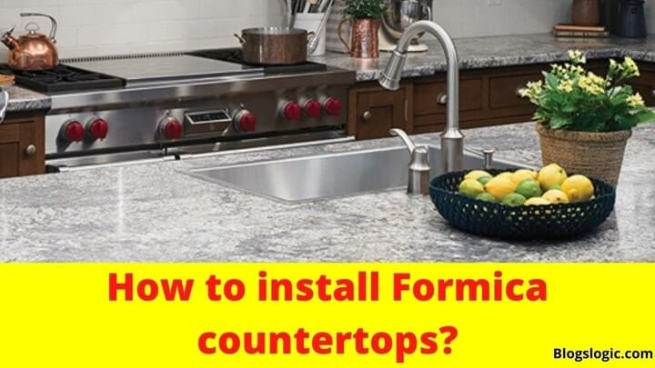 How to install Formica countertops