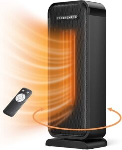 Taotronics TT-HE001 Space Heater, 1500W Electric Portable Fast Heating Widespread